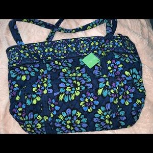 Vera Bradley Miller Bag in Pop Indigo